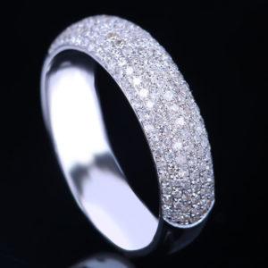 | REF : WB7005 | PAVE DIAMOND BAND