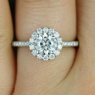   REF : HA3012   1.54ct Diamond Ring