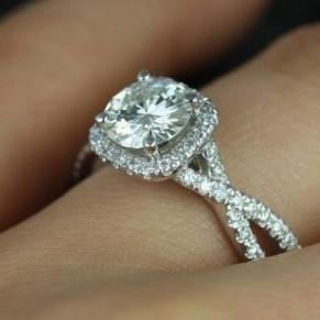   REF : HA3026   Diamond Ring