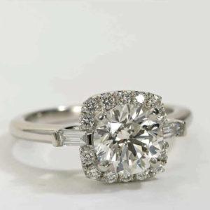   REF : HA3032   Diamond Ring