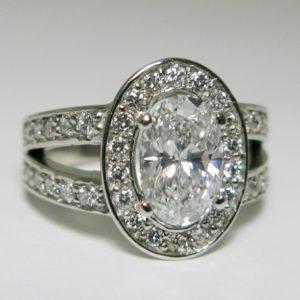   REF : HA3036   Diamond Ring