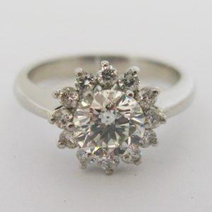 | REF : HA3039 | 1.10ct Diamond Engagement Ring