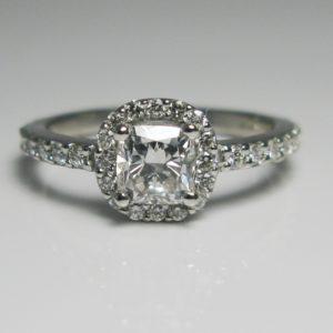 | REF : HA3041 | Diamond Ring