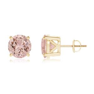 | REF : MORG125 | Morganite  Earrings