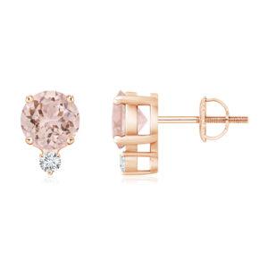 Morganite Earrings and Jewellery by Craig Marks Diamonds