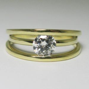 | REF : SB5003 | 0.54 Diamond Ring