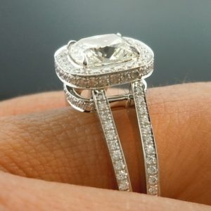 | REF : HA3003| 1.20ct Diamond Ring